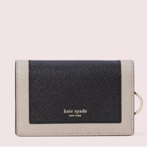 Kate Spade Margaux small key ring wallet